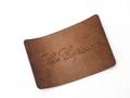 Нашивка патч коричневая с надписью  Les Copains