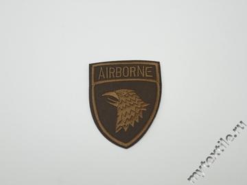 Термонаклейка эмблема Airborne