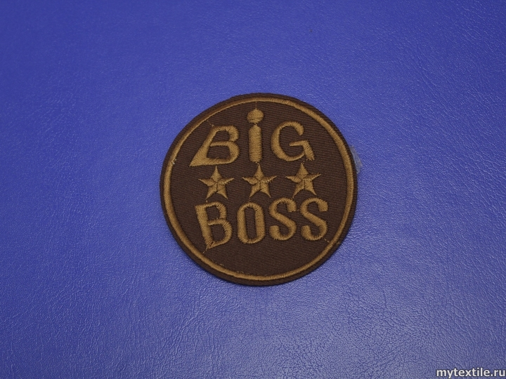 Термонаклейка Big Boss