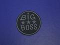 Термонаклейка  с надписью Big Boss