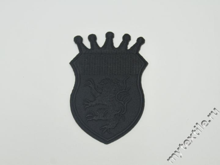 Термонаклейка черного цвета