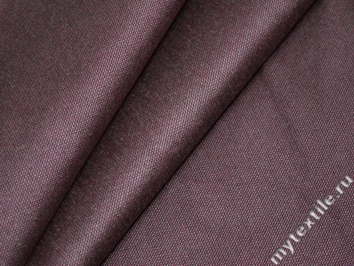 Матрасная ткань однотонная цвета бордо