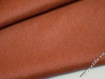 Матрасная ткань однотонная  кирпичного цвета