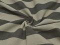 Обивочная ткань  бело-серая в полоску