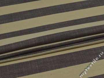 Обивочная ткань итальянская серая в полоску