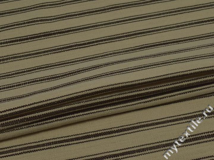 Обивочная ткань итальянская в полоску Бернардо