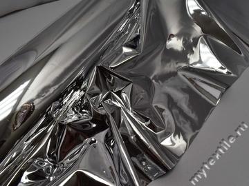 Пленка ПВХ серебряная