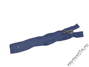 Неразъёмная потайная молния джинсовая 14 см,спираль, тип 5